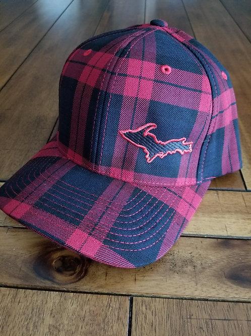Plaid FlexFit U.P. Hat