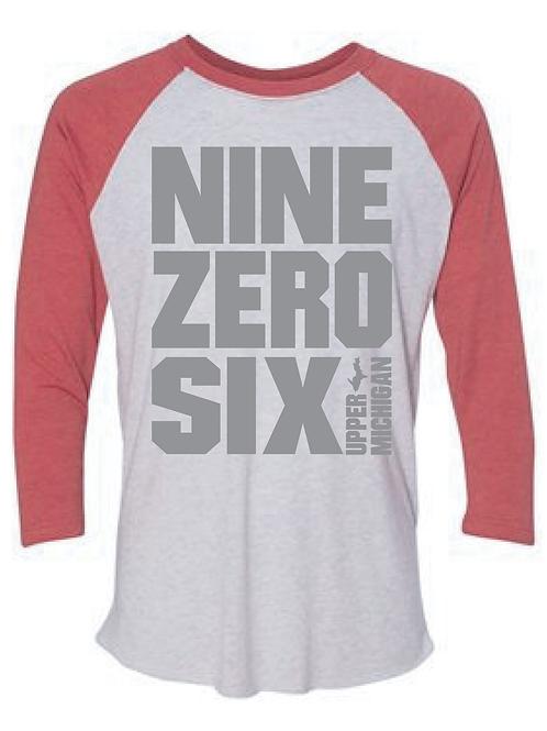 Nine Zero Six 3/4 Sleeve