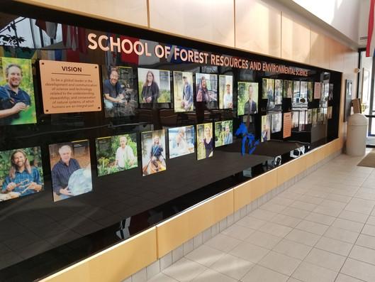 Acrylic Wall Stand-Off Display