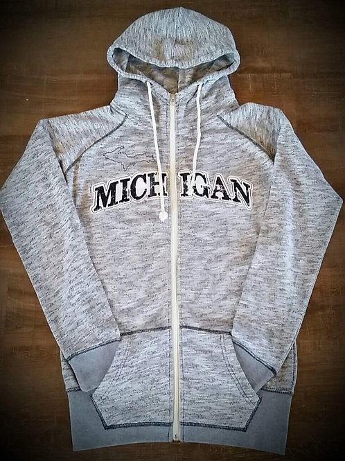 Michigan Zip Hoodie