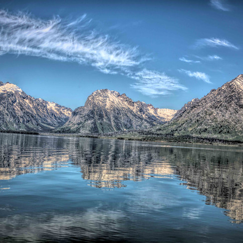 Grand Tetons Reflection