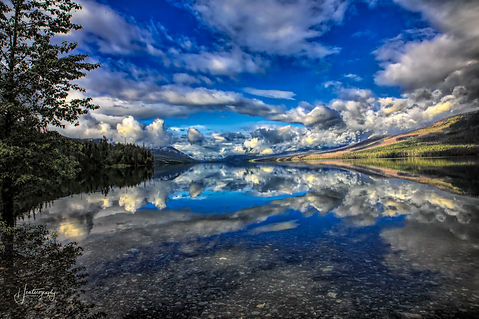 0000269 Glacier National Park Reflection