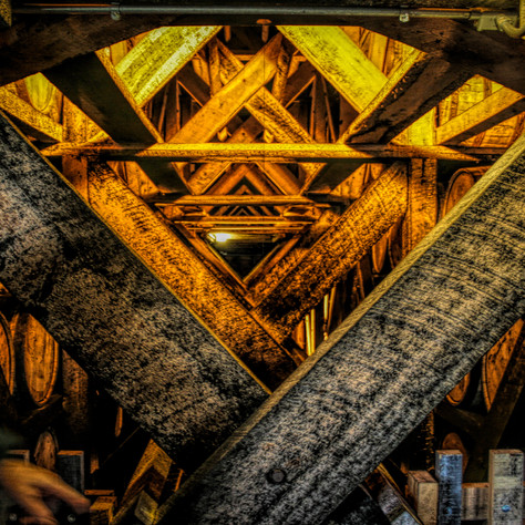 0000234 Kentucky Distillery Rafters HDR.