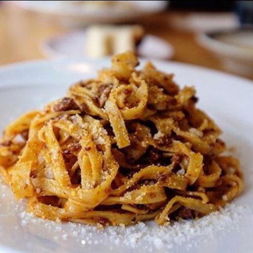 冷凍 タリァテッレとボロニェーゼソースのセット 120gx2peace  Frozen Tagliatelle& Bolognese sauce
