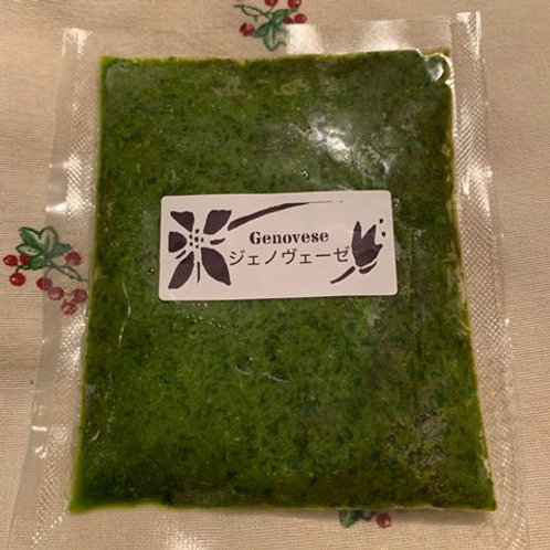 冷凍ソース バジル香るジェノヴェーゼソース Frozen Genovese Sauce