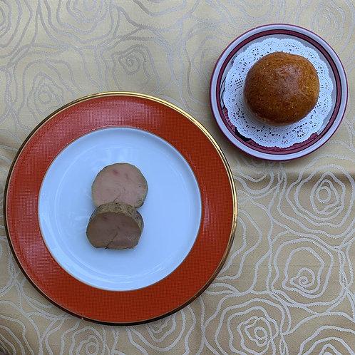 <冷凍惣菜>フォアグラのテリーヌ ブリオッシュを添えて