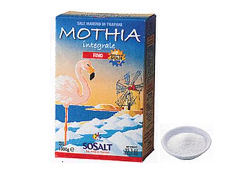 天然海塩 モティア サーレ インテグラーレ フィーノ 1kg