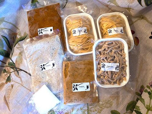 冷凍 パスタとソースのお試し3種6食分セット  Frozen Pasta&Sauce 3type assort