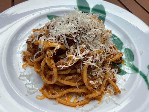 冷凍 トンナレッリとボロニェーゼソースのセット 120gx2peace  Frozen Tonnarelli & Bolognese sauce