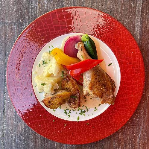 <冷凍惣菜>ホロホロ鳥のフリカッセ マルサラ風味