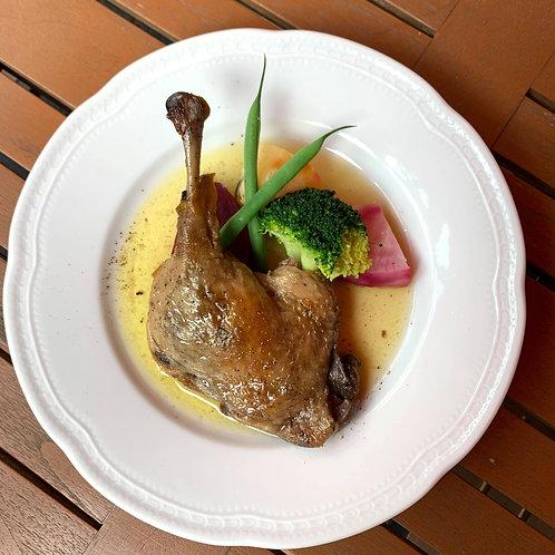 <冷凍惣菜>鴨モモ肉のコンフィ ハーブ風味