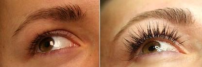 Best lash extensions at ROCA Salon & Spa