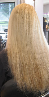 Keratin treatment before