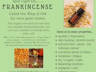 Frankincense Essential Oil in Pregnancy & Beyond - 'The King of Oils'