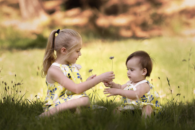 Sophie and Ivy - Adelaide Children Portraits