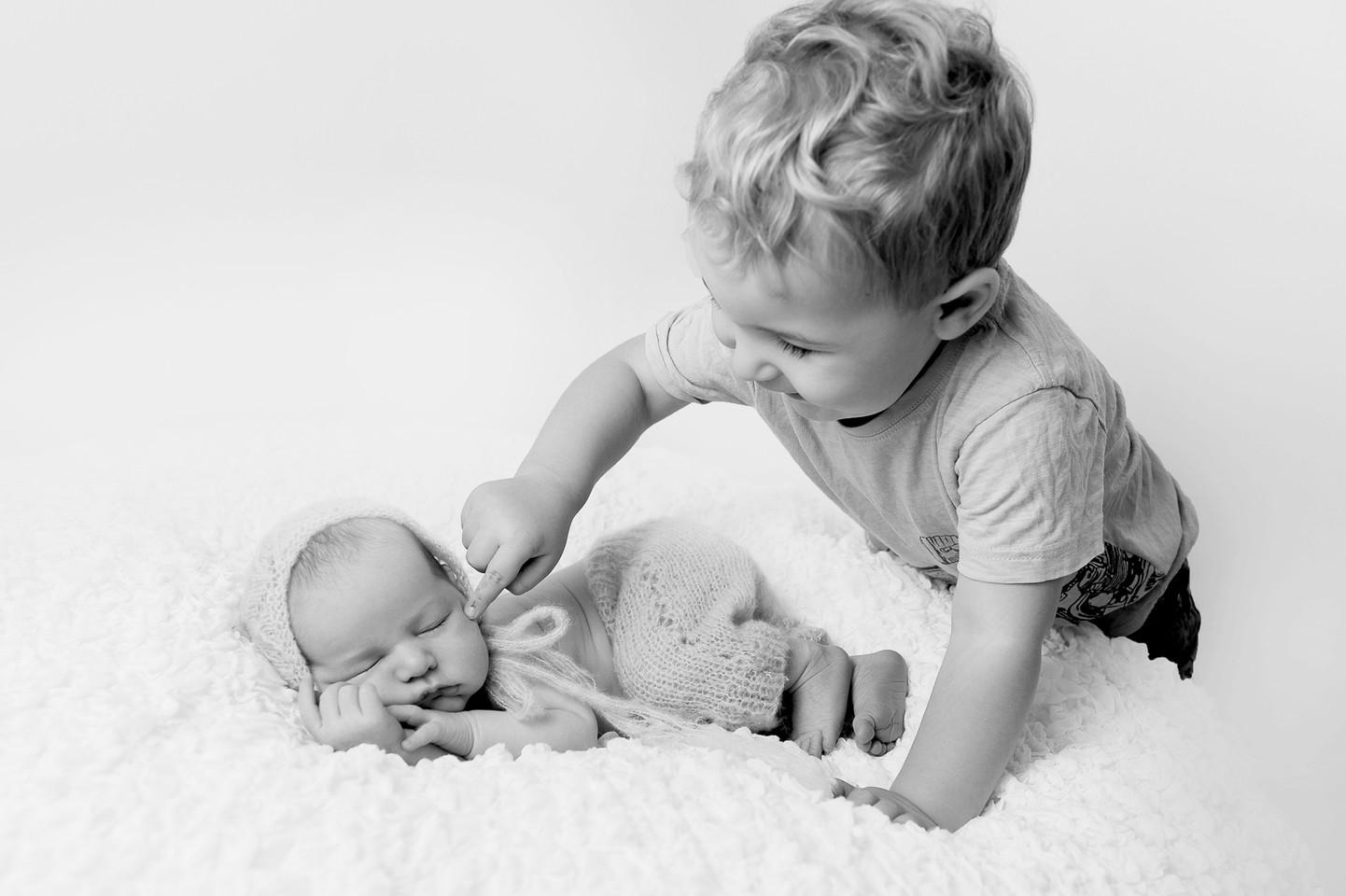 child newborn studio photo portrait adelaide