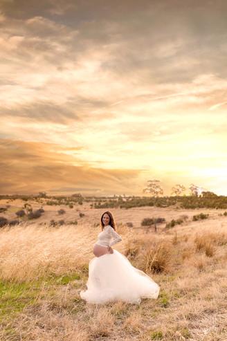 sunset maternity photo adelaide