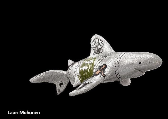 "Lauri Muhonen ""Bruce the shark"""