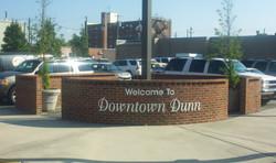 Downtown  Dunn Sign