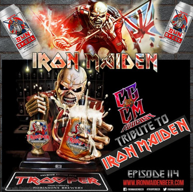 Iron Maiden Beer Trooper
