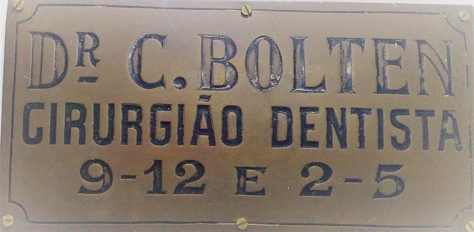 Placa do Consultório