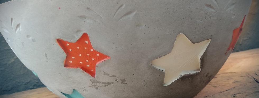 קערת כוכבים מבטון