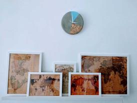 שעון בטון- עיצוב הבית - הום סטיילינג