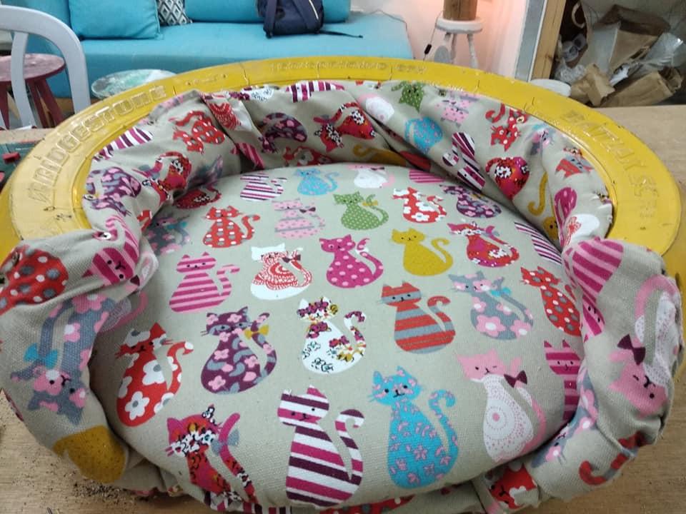וסדנת עיצוב צמיג - מיטה לחתול.jpg