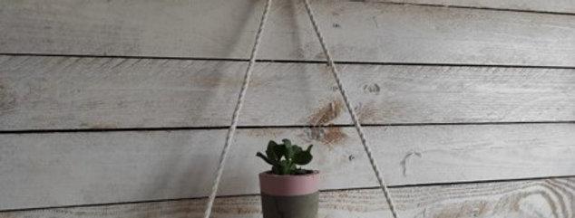 ערכת יצירה - 2 מדפי נדנדה ועציצוני בטון