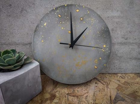 שעון בטון - סדנת בבטון - הום סטיילנג