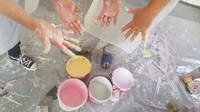 יום גיבוש עובדים - עובדים עם צבע