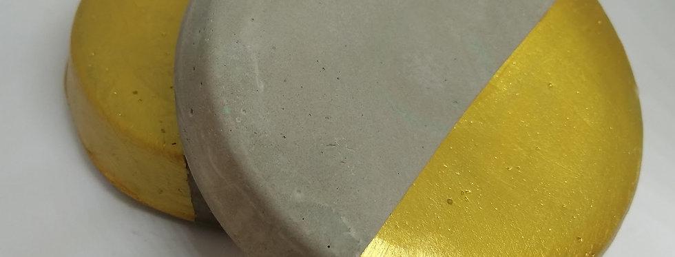 תחתיות לכוסות מבטון