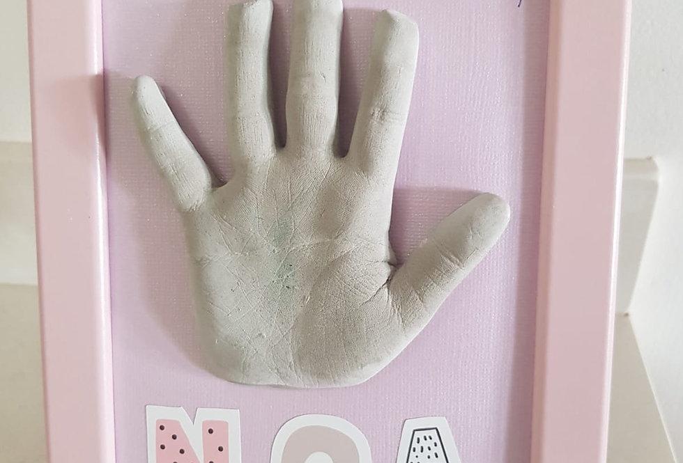 ערכת יצירה לילדים - לתבליט כפות ידיים