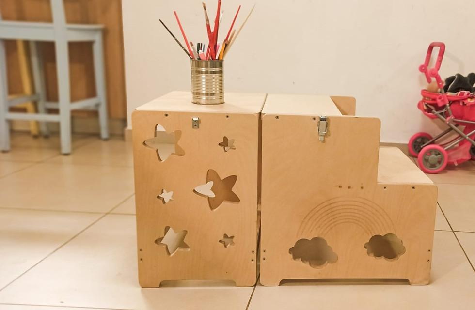מתקפל לשולחן- ערכת נגרות - מגדל למידה.jp