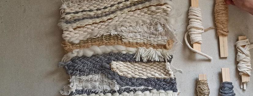 ערכת יצירה לאריגת שטיח קיר