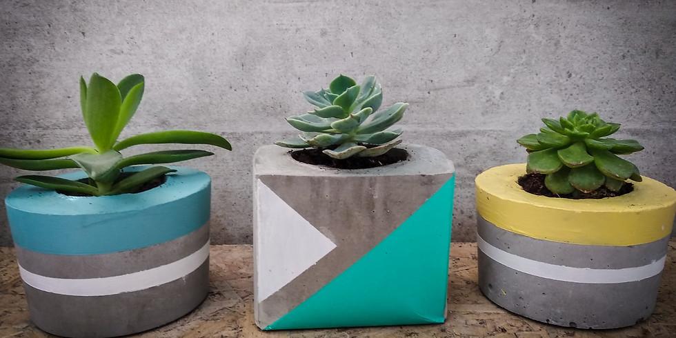 סדנת עיצוב בבטון ובעץ - אקססוריז לבית ועוד