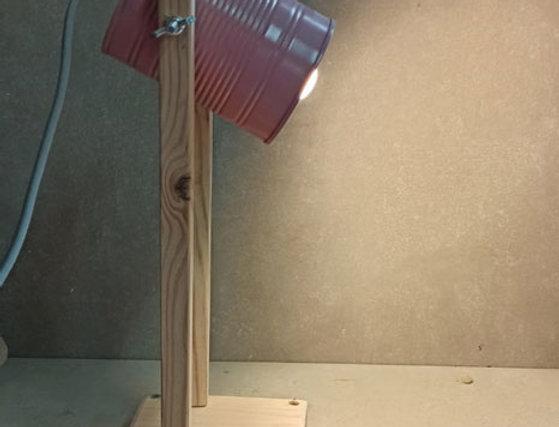 ערכת יצירה מנורת שולחן מעץ