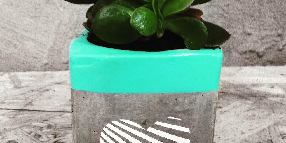 סדנת עיצוב בבטון לכבוד וולנטיין