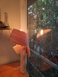 מנורת שולחן מפורניר - סדנת עיצוב גופי תא