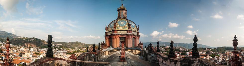 Azotea De La Catedral En Techo, Guerrero
