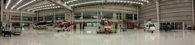 Hangar De Helicópteros De Rescate