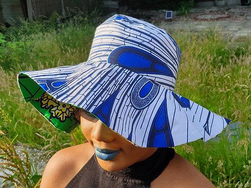 AYOMI-X-ASHABI - Reversible Summer Hat