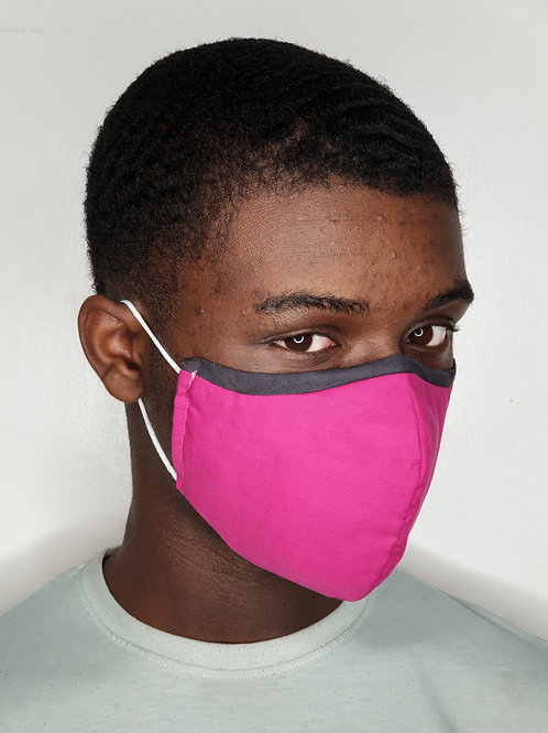 Plain Face Mask (8 colours)