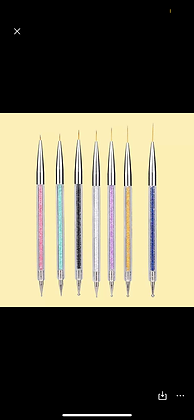 Nail artist pro art drawing brushes