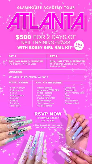 Atlanta Nail Training Class