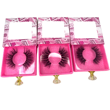 Pretty girl 3 pack mink lashes