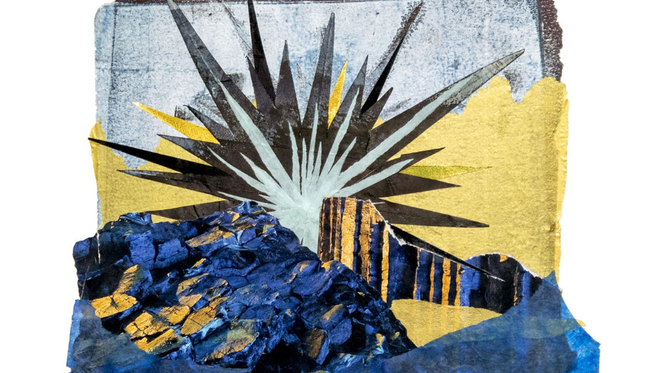 """Allison Belolan: """"I like the immediacy of collages"""""""