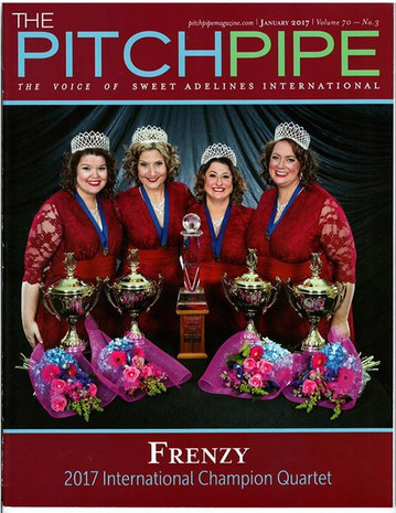 Cover of Pitch Pipe Magazine 2016