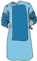 High Performance Reinforced Surgical Gown-Sterile (HPRSG)