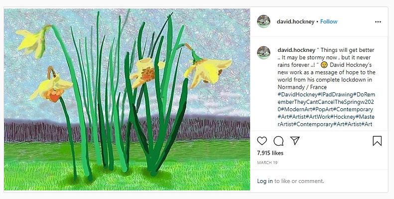 11 april 2020 - David Hockney, een nieuwe Van Gogh?